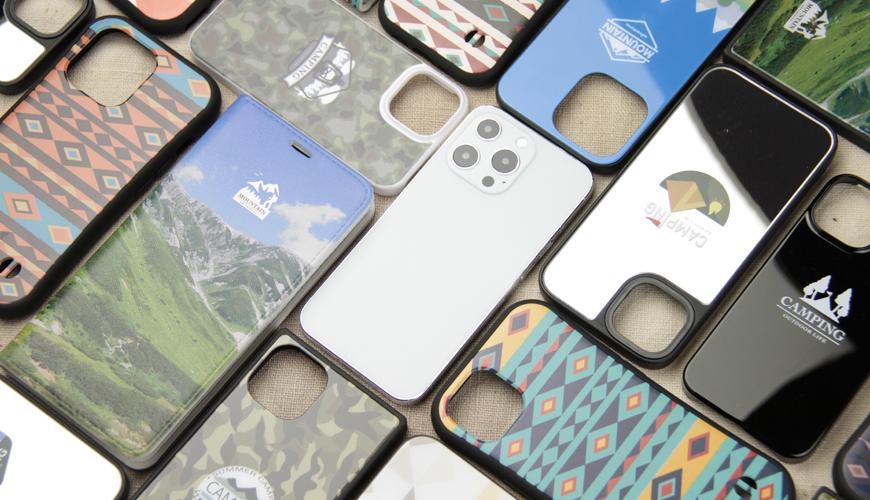 オリジナルデザインでiPhoneケースやスマホケースに印刷します。